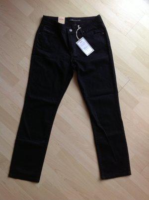 Levi's Mid rise Skinny Jeans in Schwarz