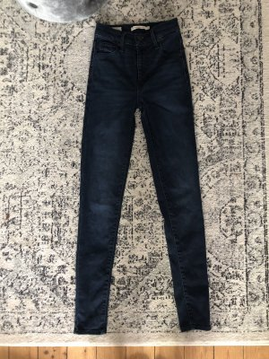 Levi's Mile High Waist Skinny Jeans Denim
