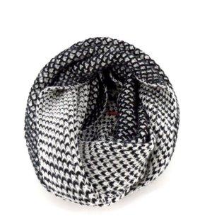 LEVI'S NEU Loop-Schal schwarz/weiß