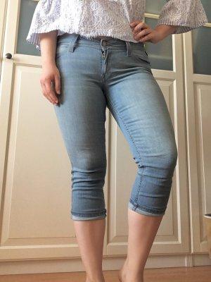 Levi's original 3/4-Jeans, Levi Strauss Dreiviertel-Jeans hellblau, Weite 29