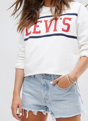 Levi's Pullover in Creme/nude