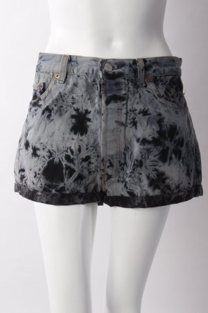 Levi's/Re Collection Jeansshorts schwarz-blau