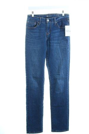 Levi's Röhrenjeans blau Street-Fashion-Look