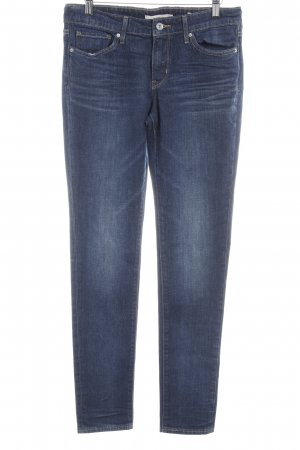 Levi's Tube jeans donkerblauw casual uitstraling