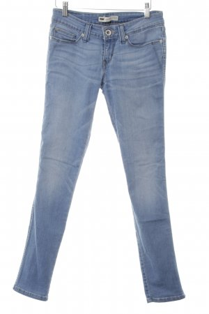 Levi's Tube jeans azuur casual uitstraling