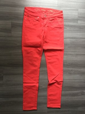 Levi's Low Rise jeans rood