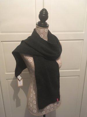 Levi's Sciarpa lavorata a maglia grigio scuro