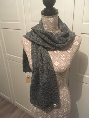 Levi's Sciarpa lavorata a maglia grigio