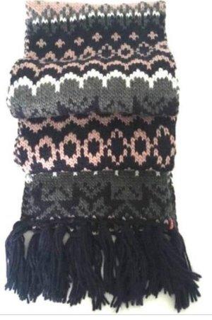 Levi's Écharpe en tricot multicolore