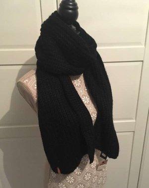 Levi's Sciarpa lavorata a maglia nero