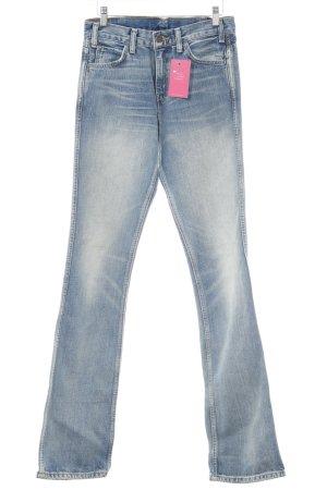 Levi's Schlaghose stahlblau Jeans-Optik