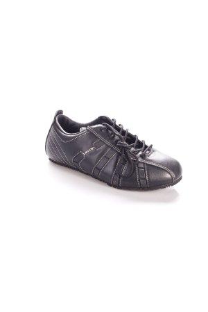 Levi's Schnürschuhe schwarz sportlicher Stil