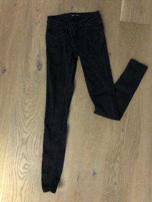 Levi's schwarze Jeans 25 low-waist
