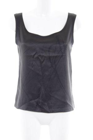 Levi's Haut en soie noir imprimé avec thème style mode des rues