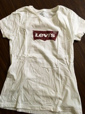 Levi's Print Shirt white-red
