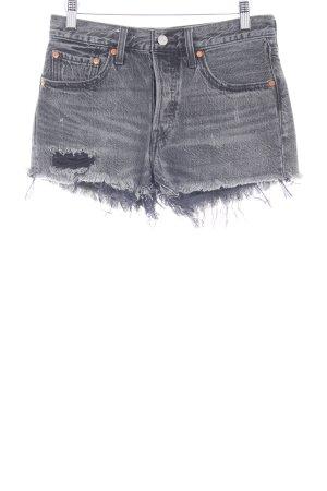 Levi's Shorts dunkelgrau Casual-Look