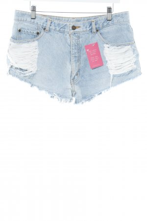 Levi's Shorts hellblau Casual-Look