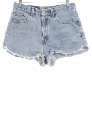 Levi's Shorts kornblumenblau Casual-Look