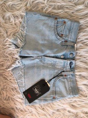 Levi's Short en jean bleu clair