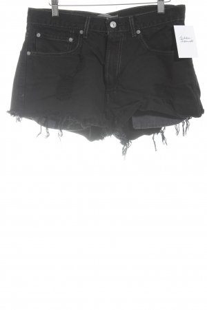 Levi's Shorts schwarz Street-Fashion-Look