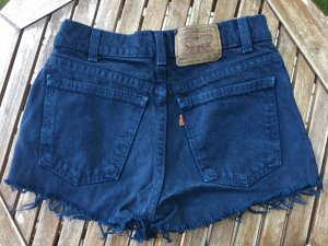 Levi's Denim Shorts dark blue