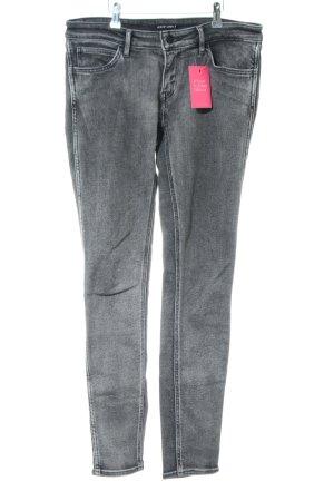 Levi's Skinny Jeans hellgrau Washed-Optik