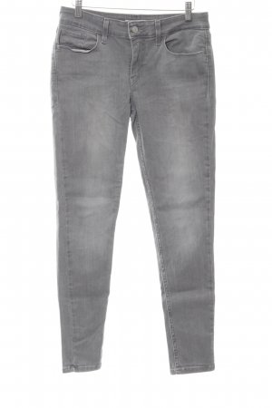 Levi's Skinny Jeans light grey jeans look
