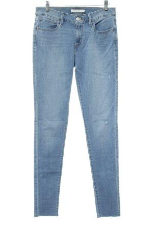 """Levi's Skinny Jeans """"710 Super Skinny"""" hellblau"""