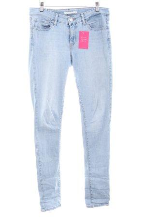 """Levi's Jeans skinny """"711"""" bleu azur"""