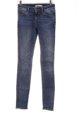 "Levi's Skinny Jeans ""711 Skinny"" blau"