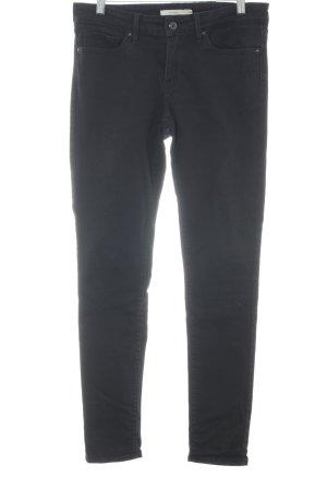 """Levi's Skinny Jeans """"711 Skinny"""" schwarz"""