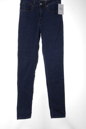 """Levi's Skinny Jeans """"721 High Rise Skinny"""" blau"""