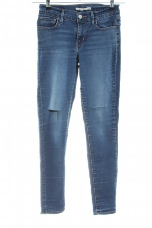 Levi's Skinny Jeans blue street-fashion look