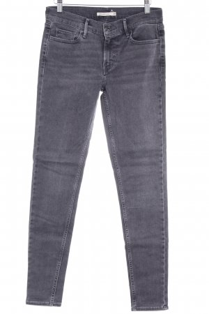 Levi's Skinny Jeans anthrazit Casual-Look