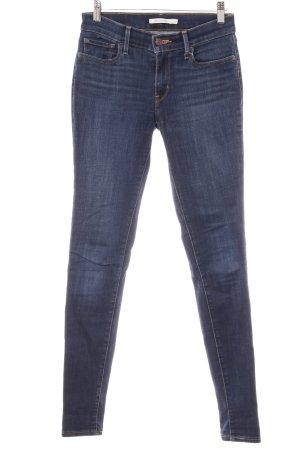 Levi's Skinny Jeans blau-bronzefarben Casual-Look