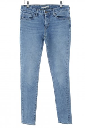 Levi's Skinny jeans blauw casual uitstraling