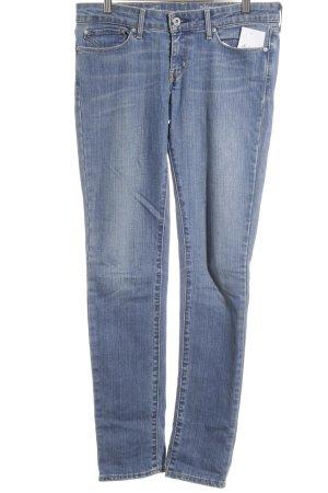 Levi's Skinny Jeans blau schlichter Stil