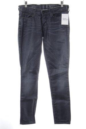 Levi's Skinny Jeans blau-weiß Jeans-Optik