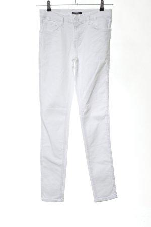"""Levi's Skinny Jeans """"Line 8"""" weiß"""