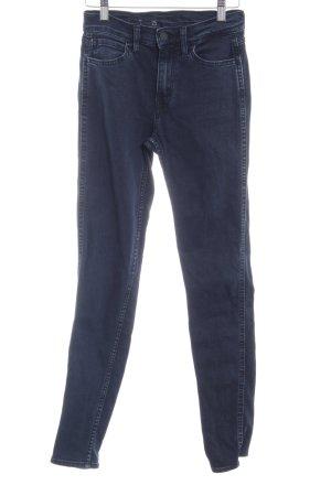 Levi's Jeans skinny bleu foncé-bleu pâle style décontracté
