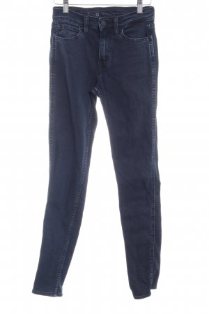 Levi's Skinny Jeans dunkelblau-blassblau Casual-Look