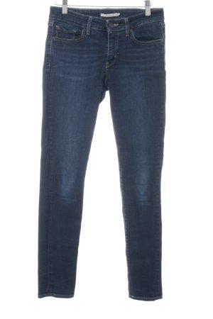 Levi's Skinny Jeans dunkelblau-blau Webmuster Casual-Look
