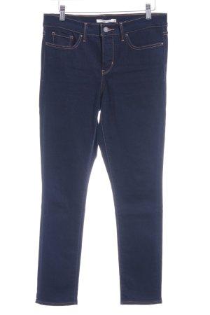 Levi's Skinny Jeans dunkelblau Casual-Look