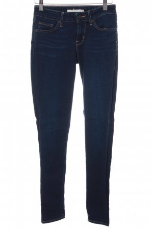 Levi's Skinny jeans donkerblauw casual uitstraling