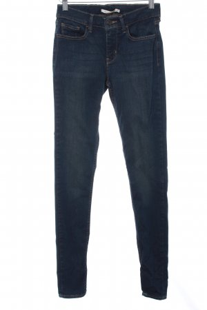 Levi's Skinny Jeans dunkelblau College-Look