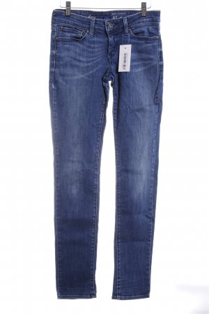 Levi's Skinny Jeans dunkelblau-graublau Casual-Look