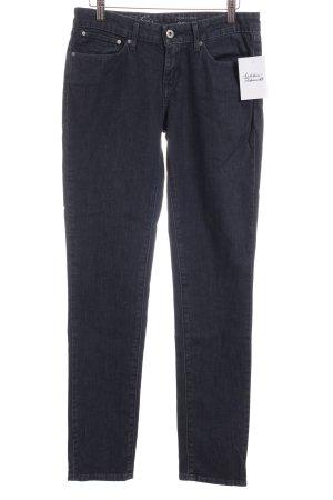 Levi's Skinny Jeans dunkelblau meliert Street-Fashion-Look