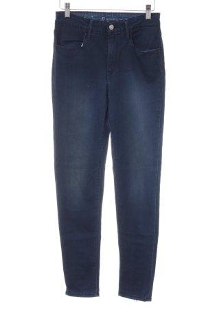 Levi's Skinny Jeans dunkelblau-silberfarben Casual-Look