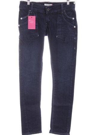 Levi's Skinny Jeans dunkelblau-stahlblau Casual-Look