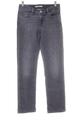 Levi's Skinny Jeans dunkelgrau Casual-Look